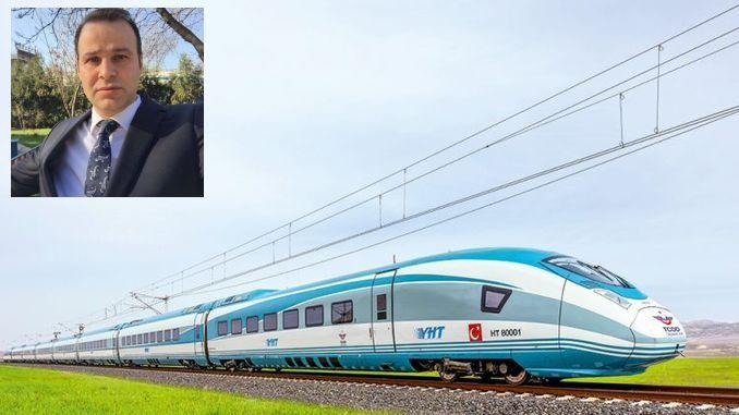 tcddden vinnige treinverkeer slagpale