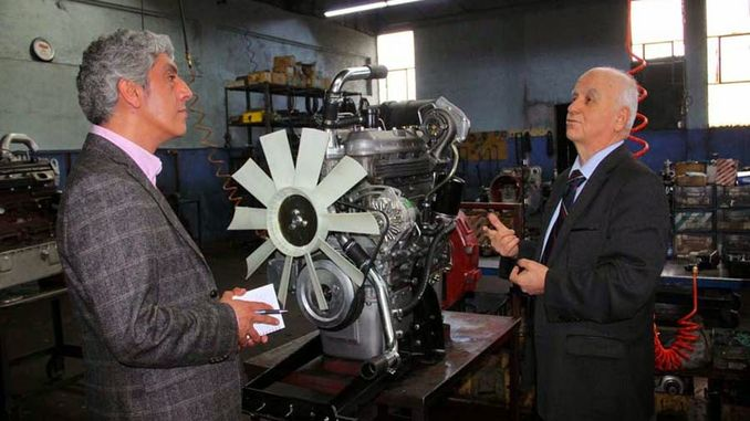 turkiyenin πρώτο τοπικό και εθνικό ειδικό εργοστάσιο κινητήρων ντίζελ Yavuz