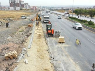 yenikent ayas road worksed