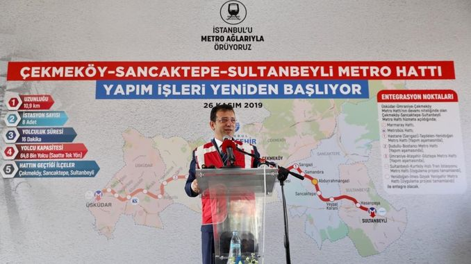 mamoğlu Production Has Restarted Duran Metro Line for Years