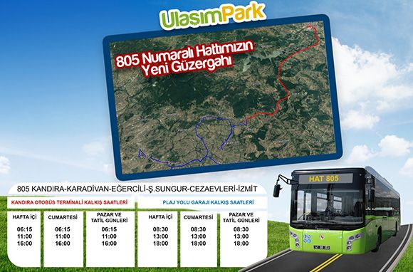 Line route and schedules