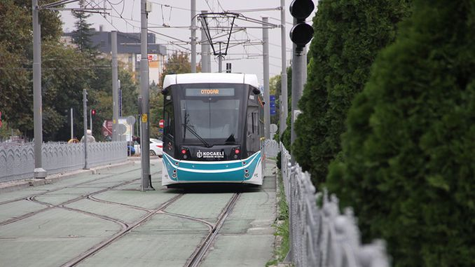 akcaray tram line will reach the city hospital
