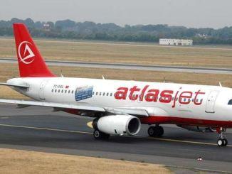 atlasjet halted its flights temporarily