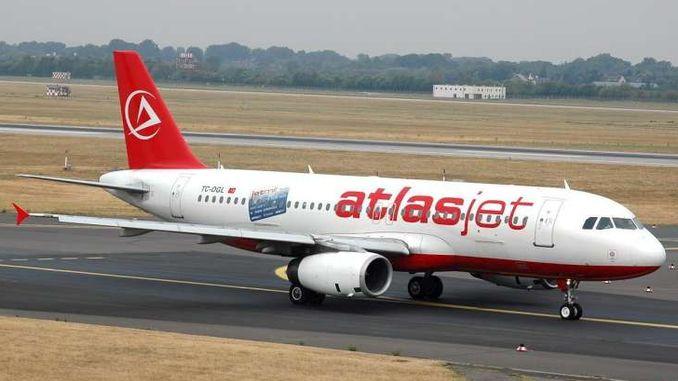 atlasjet이 일시적으로 비행을 중단했습니다