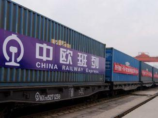 prvi voz koji je iz Kine krenuo u Evropu u novembru