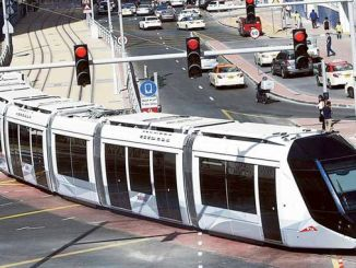 dubai tram transports million passengers per year