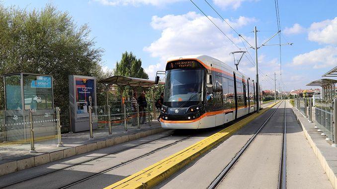 eskisehirliler लक्ष सिटी हॉस्पिटल ओपेरा ट्राम सेवा थांबेल