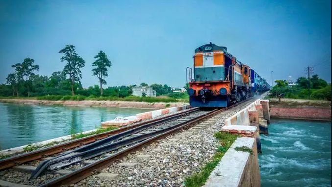 india economy and rail system investments