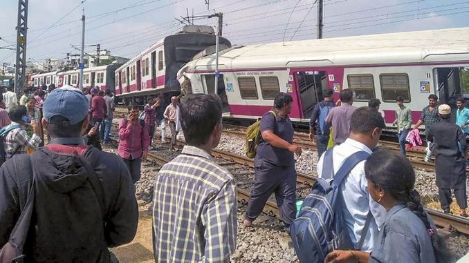 two passenger train carpists in india