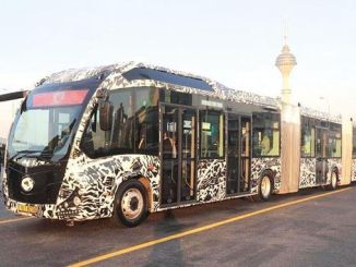 iett, zum des Metrobusfahrzeugs der hohen Kapazität zu kaufen
