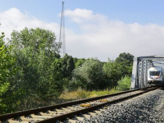 drainage of open channel and belt on the river zonguldak line
