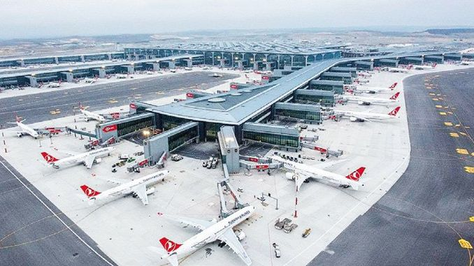 इस्तानबुल एयरपोर्ट उडान समय विस्तार थाईनीन लागत दोगुना