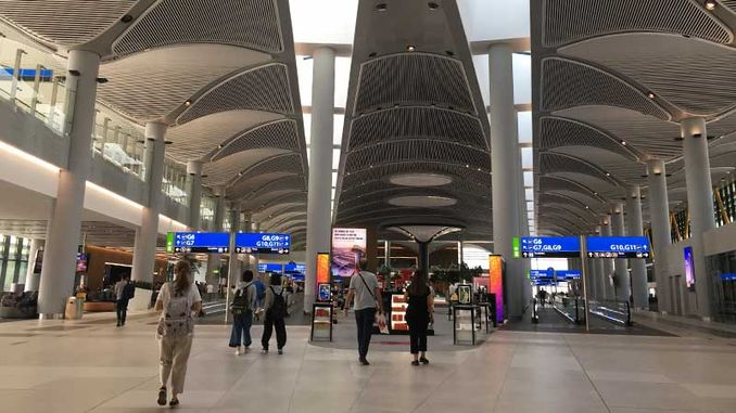 fines in euro at Istanbul airport