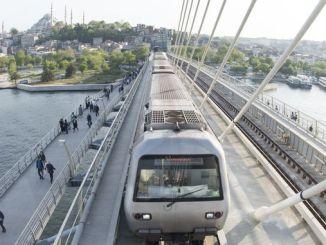 istanbul मेट्रो का नक्शा