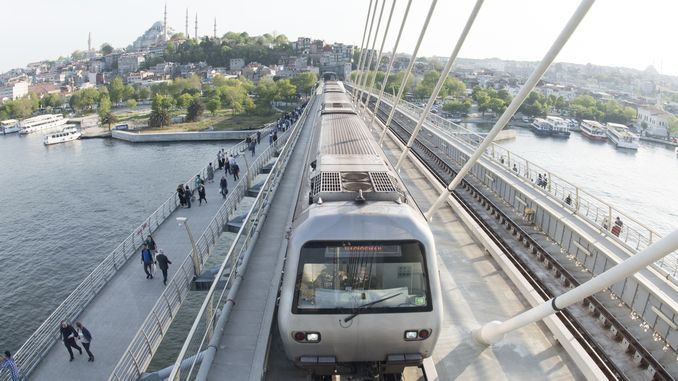 इस्तनबुल मेट्रो नकाशा