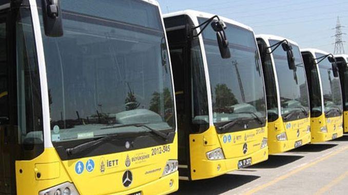 Kadikoyde iett avtobuslarına alternativ yol