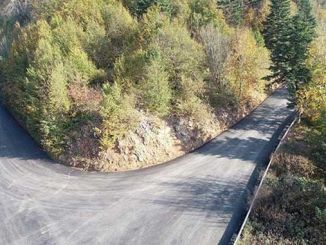 Alternative road to kartepe asphalted