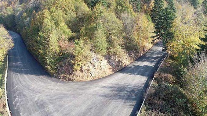 Alternative road to kartepe asphalted