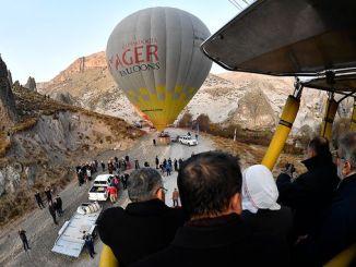 kayseride Ballon Tourismus ugefaang