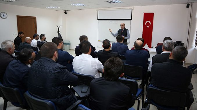 training began to drive the big city of Kocaeli