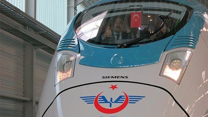 siemen ürettigi first set of yht kasimda will hit the road right turkiyeye