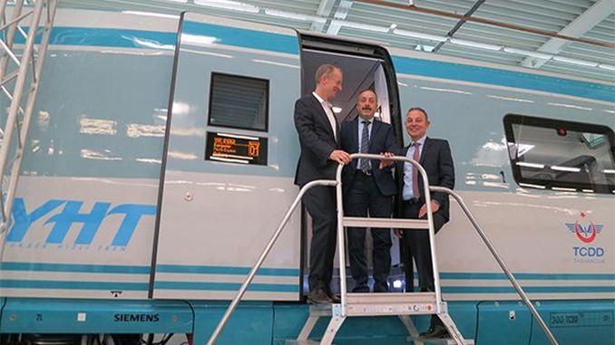 primeiros conxuntos de tren de alta velocidade producidos por Siemens