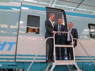 first high speed train sets produced by siemens