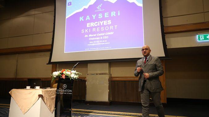 Kayseri Erciyes Introdusert med Thai turisme