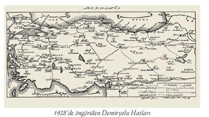 Türkei Railways Geschichte