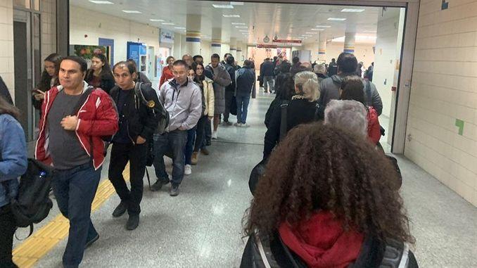 безбедносна редица на метро станиците во Анкара