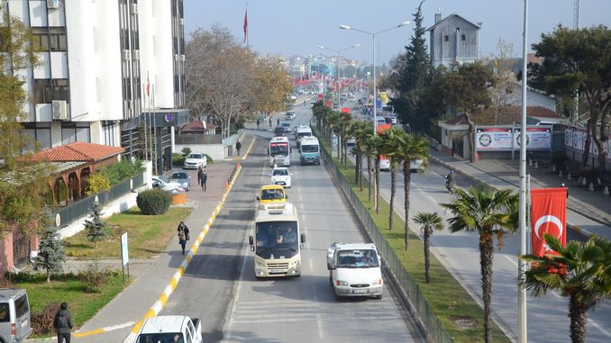 balikesir traffic percent relaxed