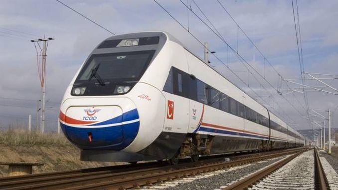 a liña ferroviaria de Bandirma reinvertiu