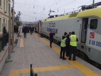 bogazici express osmaneliden розпочався перший пасажирський транспорт