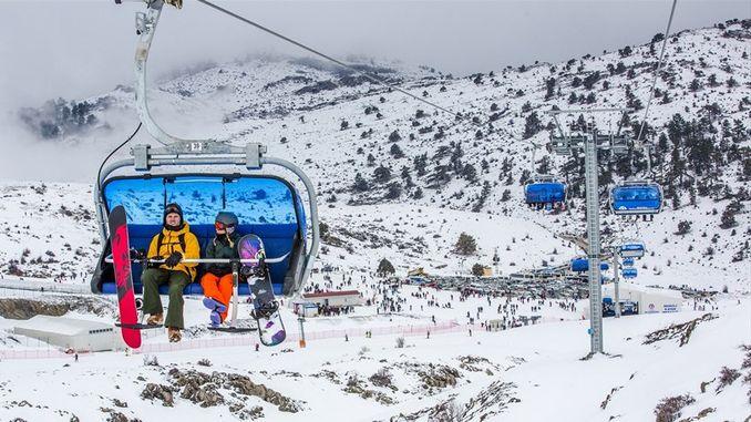 sea ski resort awaits its guests