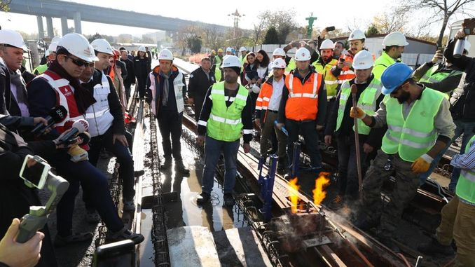 eminonu eyupsultan alibeykoy tram line will end at the end