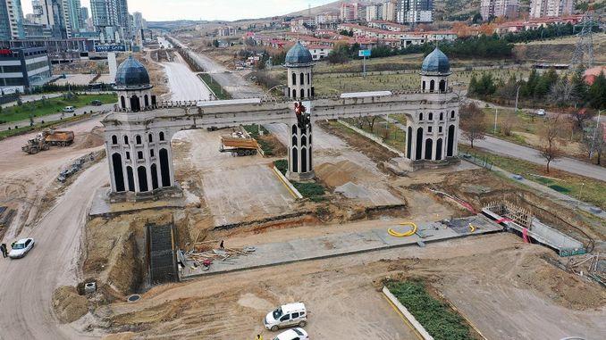 Eskişehir Road Underpass Approaches End