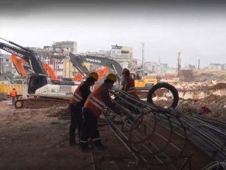 Die Untergrundarbeiten von Gaziray haben begonnen