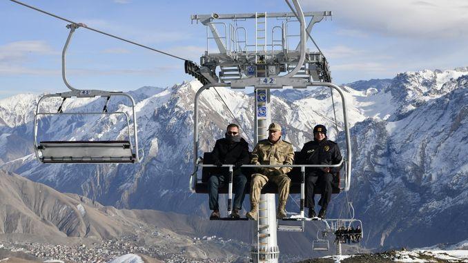 hakkari merga butan ski resort ready to host ski enthusiasts