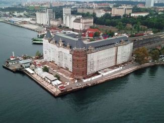 Haydarpaşa Train Station Interiør blev set for første gang