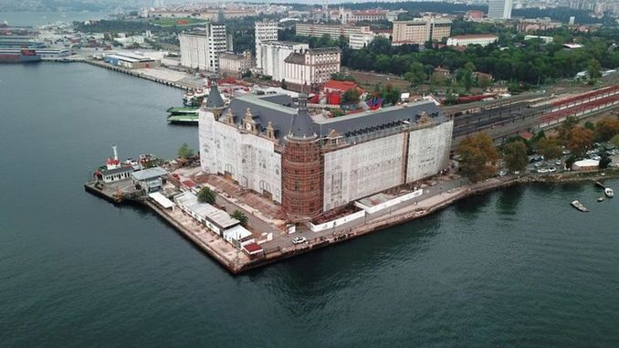 Haydarpaşa Train Station Interior Was Viewed For The First Time