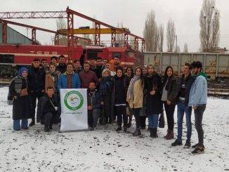 Estudiantes de la Universidad Iğdir organizaron una visita técnica a la Dirección de Logística de Kars