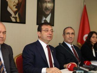 إماموغلوند وزير قناة تورهانا اسطنبول استجابة الجمهور ألغى المشروع في يونيو