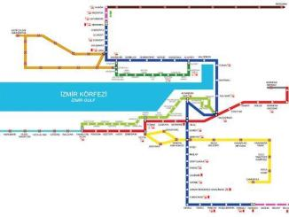 Izmir Metro Saatleri Ticket Prices Stations ug Map