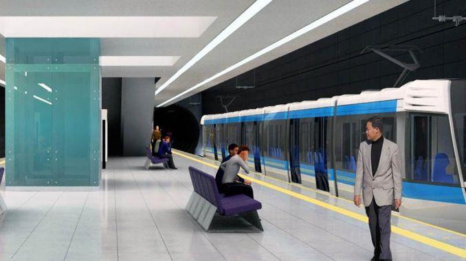 Kocaeli Metro Line Verkefni og hagkvæmni rannsóknir