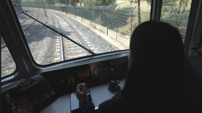 метро Стамбул машинист