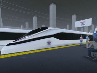 national high-speed train project will be realized with industry cooperation program