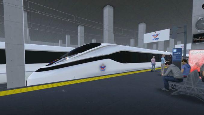 ang nasudnon nga high-speed nga proyekto sa tren maabut uban ang programa sa kooperasyon sa industriya