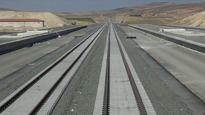 линия скоростных поездов Сивас Анкара закончится, когда