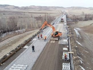 in sivas ankara arbeiten tausend menschen im hochgeschwindigkeitszugbau