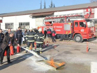 tuvasas personnel received fire training
